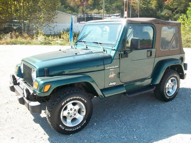 2000 jeep wrangler sahara for sale in louisa kentucky classified. Black Bedroom Furniture Sets. Home Design Ideas