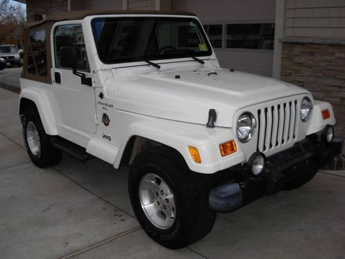 2000 jeep wrangler sahara for sale in ancora new jersey classified. Black Bedroom Furniture Sets. Home Design Ideas