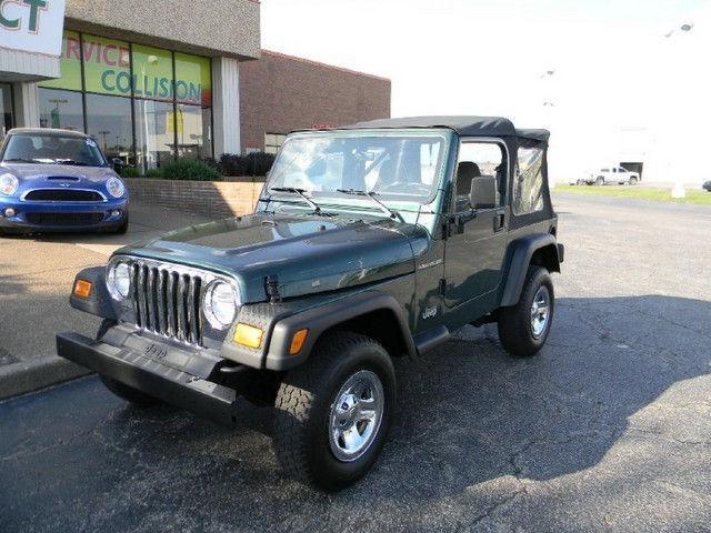 2000 jeep wrangler se 2000 jeep wrangler car for sale in for Select motors evansville in