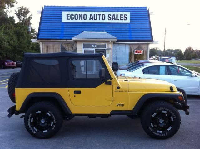 2000 jeep wrangler se 2000 jeep wrangler se car for sale in raleigh nc 4366978827 used. Black Bedroom Furniture Sets. Home Design Ideas