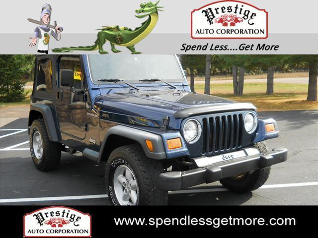 2000 jeep wrangler se for sale in eau claire wisconsin classified. Black Bedroom Furniture Sets. Home Design Ideas