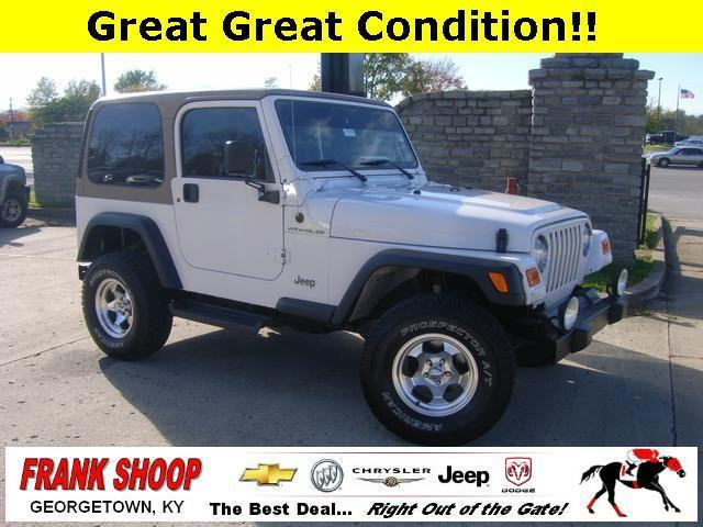 2000 jeep wrangler se for sale in georgetown kentucky classified. Black Bedroom Furniture Sets. Home Design Ideas