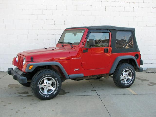 2000 jeep wrangler se for sale in shenandoah iowa classified. Black Bedroom Furniture Sets. Home Design Ideas