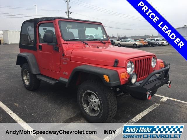 2000 jeep wrangler sport 2dr sport 4wd suv for sale in indianapolis indiana classified. Black Bedroom Furniture Sets. Home Design Ideas