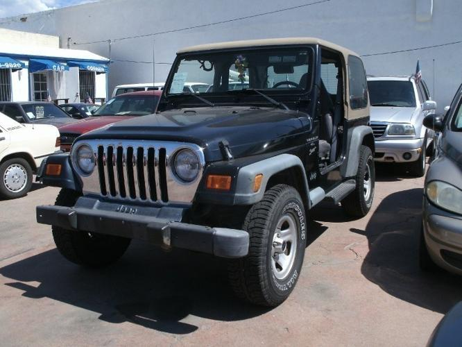2000 jeep wrangler sport 4x4 manual transmission dwn tax title lic doc fee car corner for. Black Bedroom Furniture Sets. Home Design Ideas