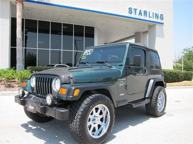 2000 jeep wrangler sport for sale in saint cloud florida classified. Black Bedroom Furniture Sets. Home Design Ideas