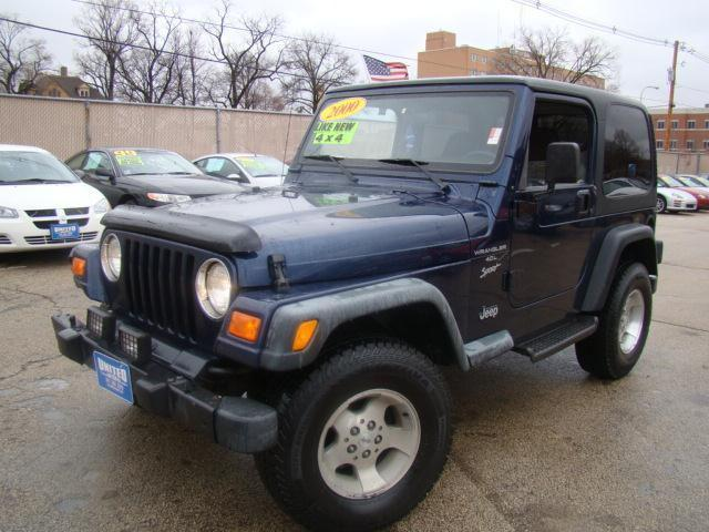 2000 jeep wrangler sport for sale in champaign illinois classified. Cars Review. Best American Auto & Cars Review