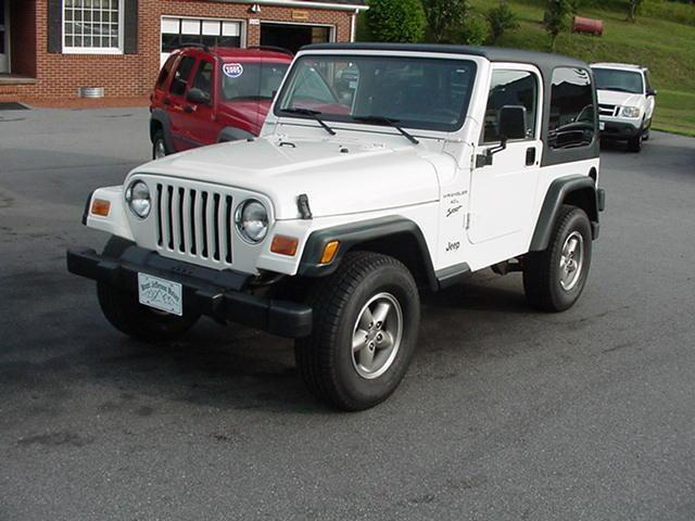 2000 jeep wrangler sport for sale in jefferson north carolina classified. Black Bedroom Furniture Sets. Home Design Ideas