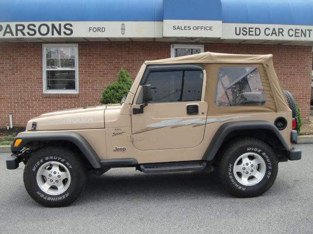 2000 jeep wrangler sport for sale in martinsburg west virginia. Cars Review. Best American Auto & Cars Review