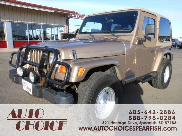 2000 jeep wrangler sport for sale in spearfish south for Spearfish motors spearfish sd