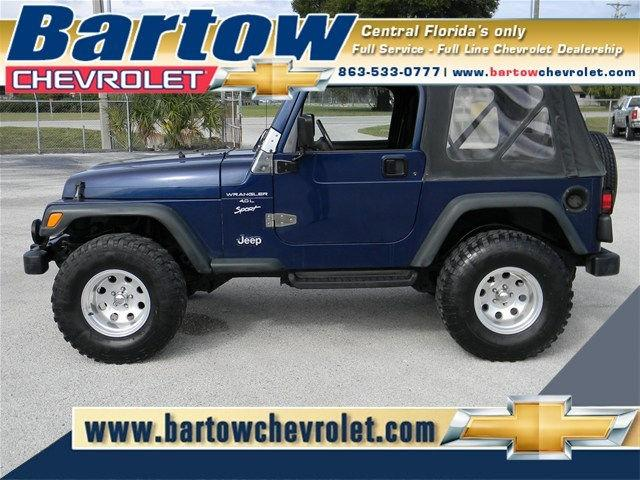 2000 jeep wrangler sport for sale in bartow florida classified. Black Bedroom Furniture Sets. Home Design Ideas