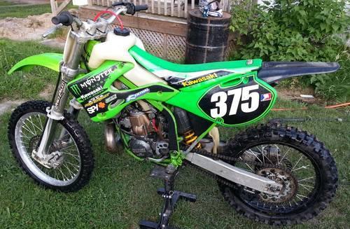 2000 Kawasaki KX250 2 Stroke KX 250 for Sale in Freeland ...