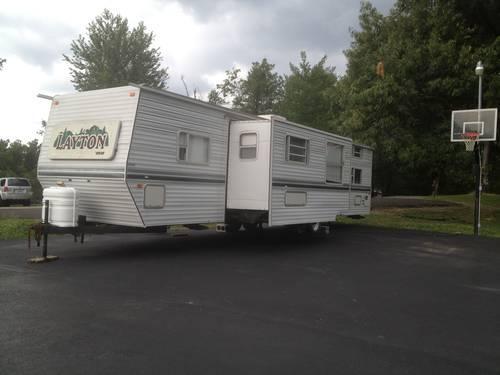 Calvert City Ky >> 2000 Layton Travel Trailer model 3710 37 foot long for Sale in Calvert City, Kentucky Classified ...