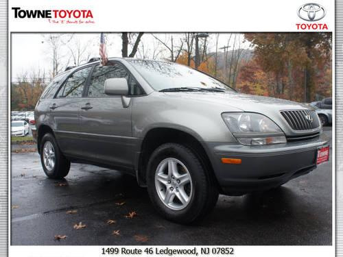 2000 lexus rx suv 4x4 300 for sale in ledgewood new jersey classified. Black Bedroom Furniture Sets. Home Design Ideas