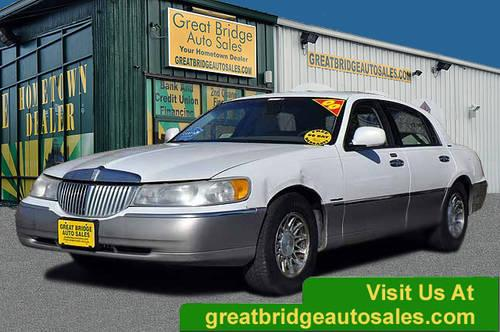 2000 lincoln town car sedan for sale in chesapeake virginia classified. Black Bedroom Furniture Sets. Home Design Ideas