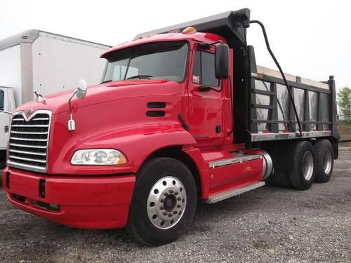 2000 Mack Tractor Truck : Mack cx vision dump truck for sale in