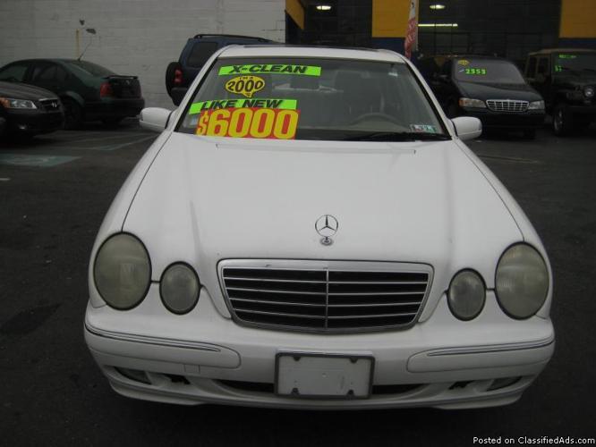 2000 mercedes benz e class e320 6 cyl for sale in for Mercedes benz allentown pennsylvania