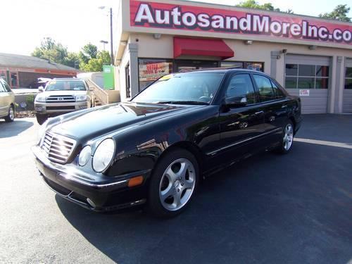 2000 mercedes benz e430 sport sedan local one owner low miles for sale in knoxville. Black Bedroom Furniture Sets. Home Design Ideas