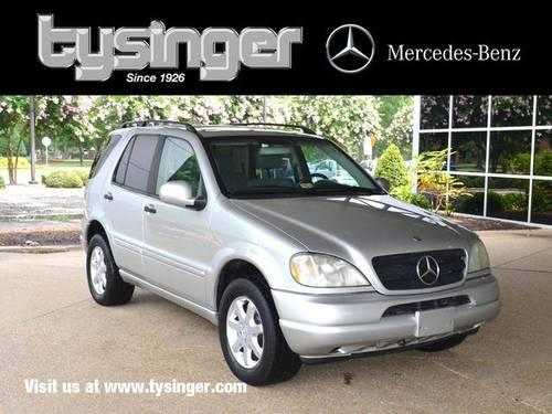 2000 mercedes benz m class 4d sport utility ml430 for sale for Tysinger motors used cars