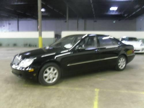 2000 mercedes benz s class sedan s500 for sale in saddle for Mercedes benz for sale in nj