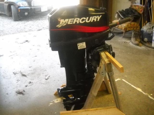 2000 Mercury 20 Hp 2 Stroke Boat Motor For Sale In