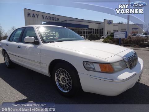 Ray Varner Ford Clinton Tn 2000 Mercury Grand Marquis 4