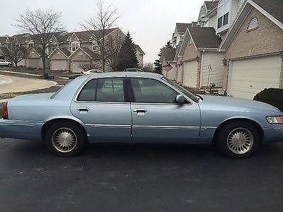 2000 Mercury Grand Marquis Ls Sedan 4 Door 4 6l For Sale