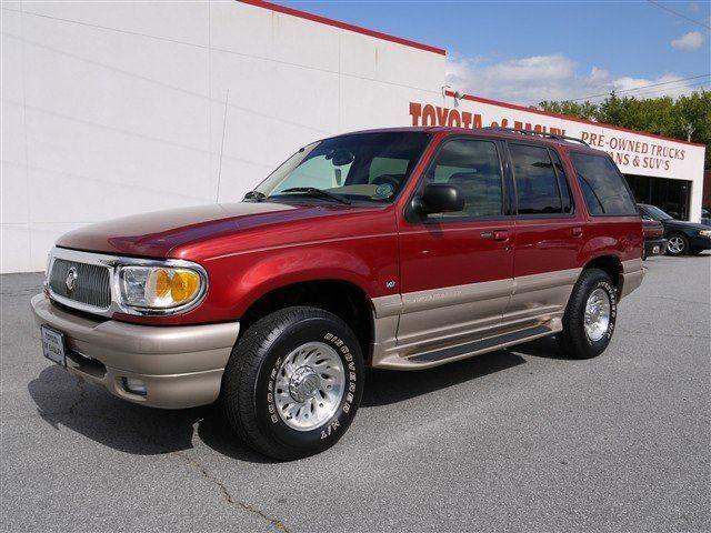 2000 mercury mountaineer for sale in easley south carolina classified. Black Bedroom Furniture Sets. Home Design Ideas