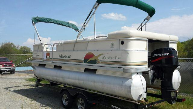 Pontoon Boat: Double Bimini Top For Pontoon Boat
