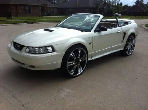 2000 mustang gt convertible for sale in la place. Black Bedroom Furniture Sets. Home Design Ideas