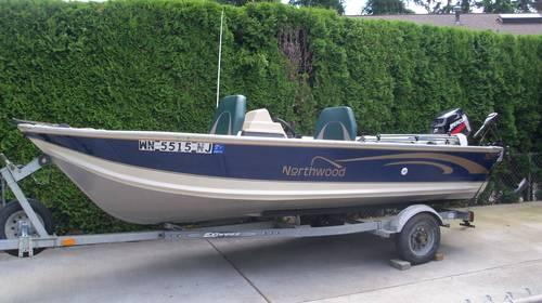 2000 Northwood 1675 Aluminum Boat For Sale In Algona