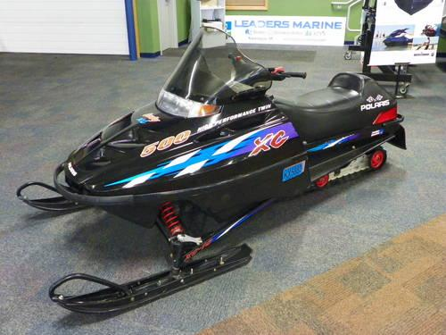 2000 Polaris Indy 500 XC w/liquid-cooled twin engine!