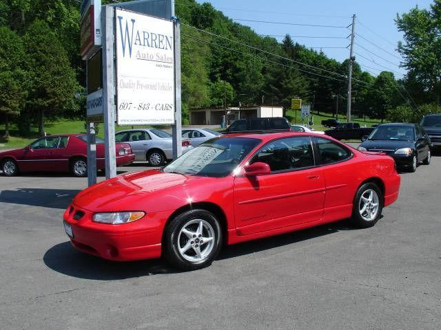 2000 Pontiac Grand Prix Gt For Sale In Oxford  New York
