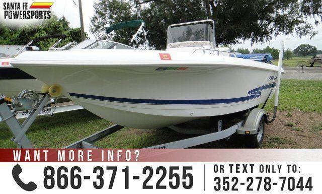 2000 Pro Line 17 Sport USED BOAT
