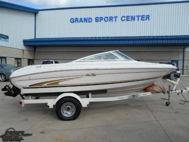 2000 Sea Ray 185 Bowrider 1 Owner Runabout With 4 3l V6