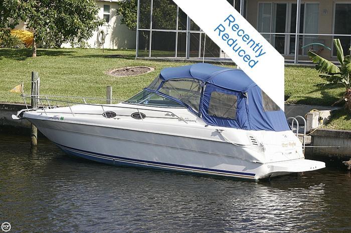 2000 Sea Ray 270 Sundancer For Sale In Cape Coral Florida