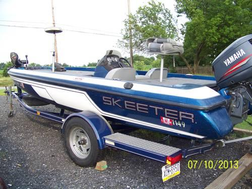 2000 Skeeter SX176 Bass Boat w/Many Extra's for Sale in ...