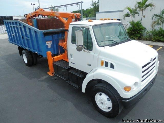 2000 Sterling Acterra Grapple Truck Stock 78052