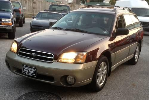 2000 subaru legacy outback awd for sale in baresville pennsylvania classified. Black Bedroom Furniture Sets. Home Design Ideas