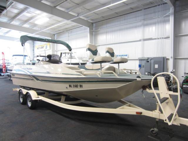 2000 Sun Tracker 21 Party Deck For Sale In Kalamazoo
