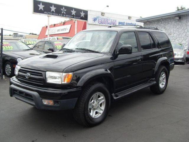 2000 toyota 4runner black all wheel drive clean car for sale in gold river california. Black Bedroom Furniture Sets. Home Design Ideas