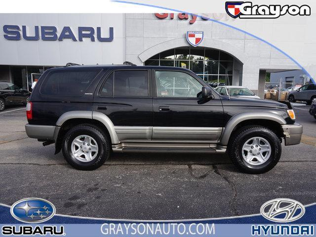 2000 Toyota 4Runner Limited 4dr Limited 4WD SUV