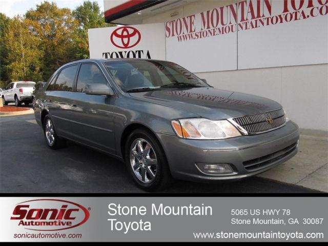 2000 toyota avalon xls for sale in stone mountain georgia classified. Black Bedroom Furniture Sets. Home Design Ideas
