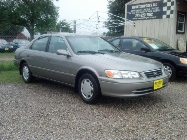 2000 toyota camry ce sedan w 59k miles 1 owner warranty autocheck for sale in spring texas. Black Bedroom Furniture Sets. Home Design Ideas