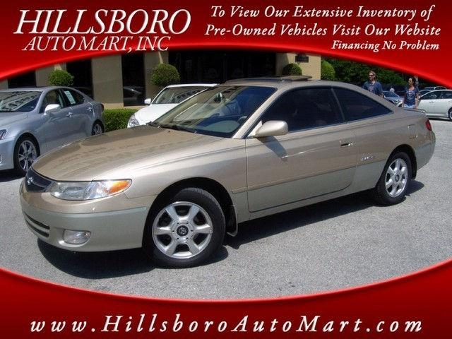 2000 toyota camry solara sle v6 for sale in tampa florida. Black Bedroom Furniture Sets. Home Design Ideas