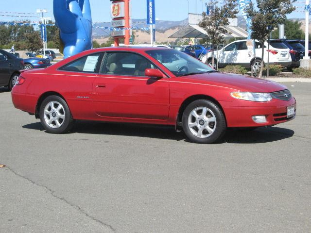 2000 toyota camry solara sle v6 for sale in fairfield. Black Bedroom Furniture Sets. Home Design Ideas
