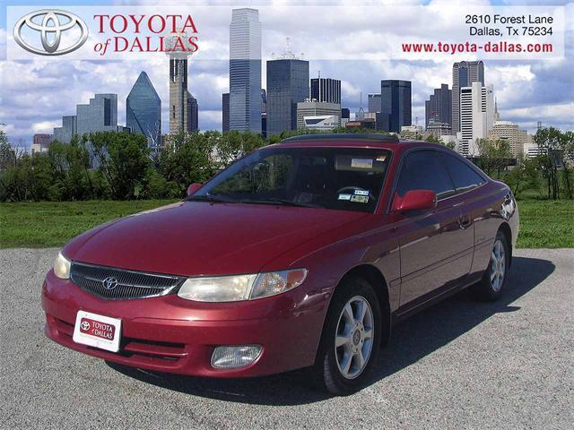 2000 toyota camry solara sle v6 for sale in dallas texas. Black Bedroom Furniture Sets. Home Design Ideas