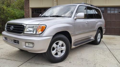 2000 toyota land cruiser for sale in chicago illinois classified. Black Bedroom Furniture Sets. Home Design Ideas