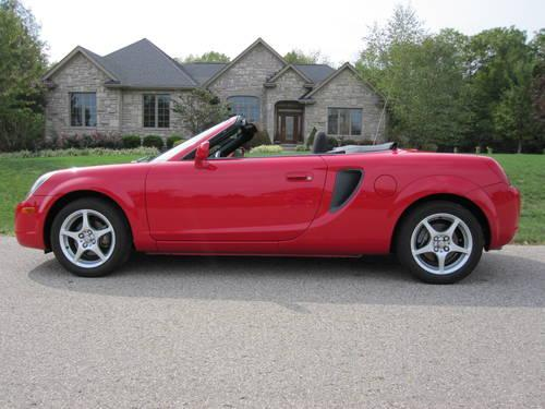 2000 toyota mr2 spyder for sale in corwin ohio classified. Black Bedroom Furniture Sets. Home Design Ideas