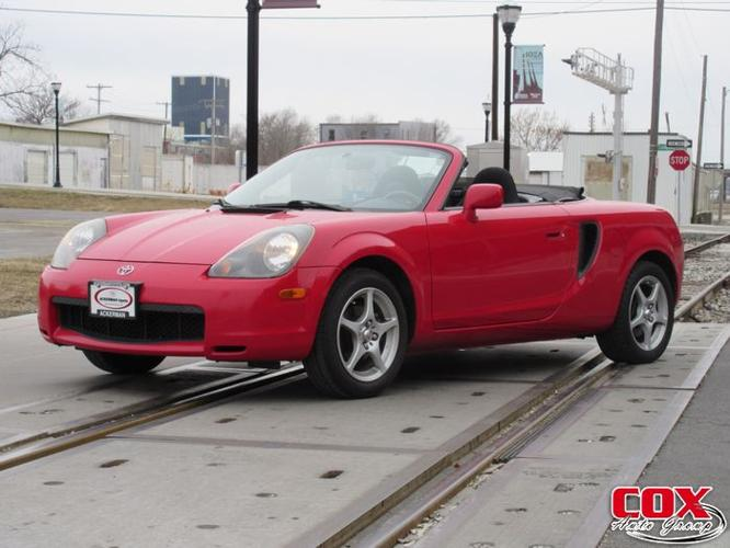 2000 toyota mr2 spyder base springfield mo for sale in springfield missouri classified. Black Bedroom Furniture Sets. Home Design Ideas